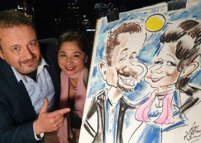 Hire Caricature Artist Cartoonist in Melbourne for Live Funny Caricatures Events