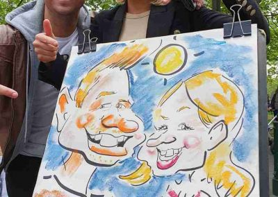Birthday Caricature_in_Melbourne_by Caricature Artist Cartoonist Funny