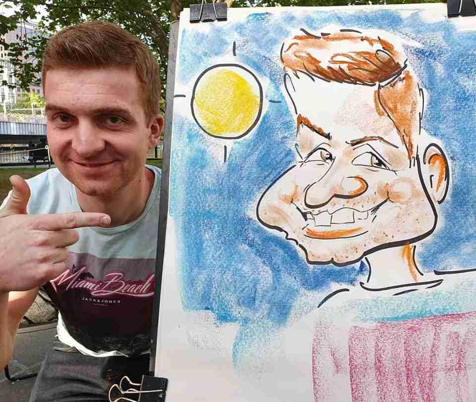 Caricature Melbourne_by Live Caricature Artist Cartoonist