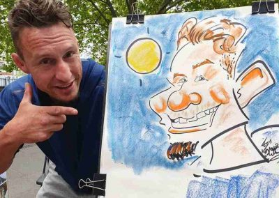 Live Caricature_in_Melbourne_by Caricature Artist Cartoonist
