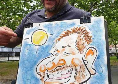 Live Caricature_in_Melbourne_by Caricature Artist Cartoonist for Events