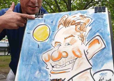 Live Caricature_in_Melbourne_by Funny Caricature Artist Cartoonist